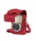 Preview: Leica Ledertasche C-LUX rot