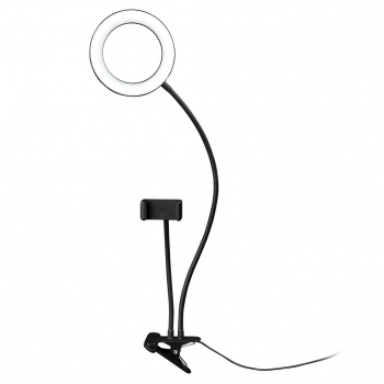 DÖRR LED Selfie Ringlicht SLR-16 Bi-Color