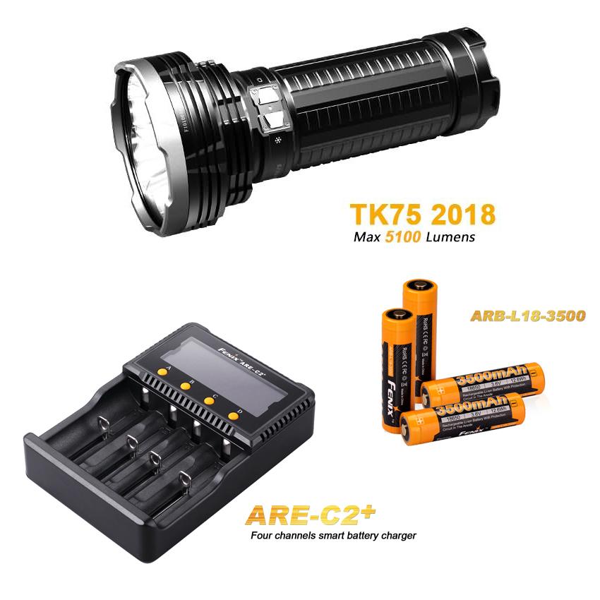 foto edelmann fenix tk75 2018 led taschenlampe inkl. Black Bedroom Furniture Sets. Home Design Ideas
